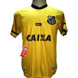 Camisa Santos Dourada Nova 2018 2019 Santos Eterno 85e54309d7e32