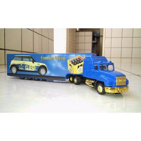 Caminhão Carreta Bau Miniatura Escala 1/87 Nr. 729
