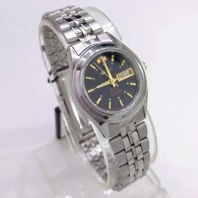 f6488a43323 Relógio Feminino Orient Automatico 25mm Preto Fnq04004b9