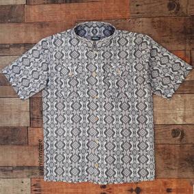 Camisa Masculina Social Arabesco - Camisas no Mercado Livre Brasil 326729199c