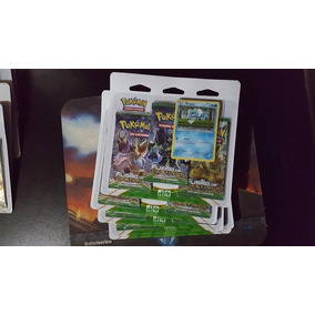 Triple Pack - Fusão De Destinos - 3 Boosters +carta Froakie