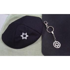 c68b8844d18 Kipa Grande Judaico no Mercado Livre Brasil