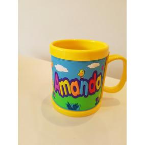 8136733ca Caneca E Copo Personalizado Com O Nome Amanda - Artesanato no ...