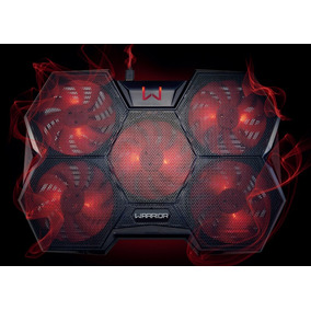 Cooler Gamer Pra Notebook Warrior Colmeia Lançamento - Ac327