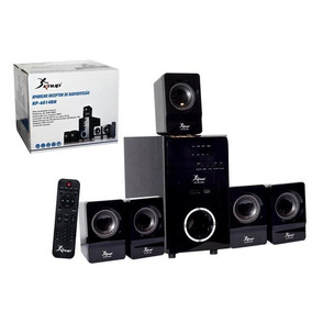 Home Theater 5.1 Knup Kp-6014bh