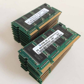 #3 Memoria 512mb Ddr 266mhz Pc-2100 2.5v Cl=2.0 Laptop