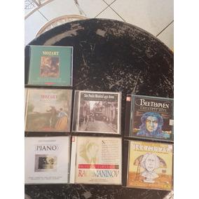Lote Com 7 Cds De Música Clássica - Beethoven , Mozart , Etc