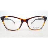 Armação Feminina Atitude Óculos Grau Gatinho At6192i G21 50d0dfb549