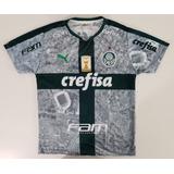 Camisa Palmeiras Cinza 2019 Frete Gratis