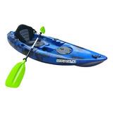 Kayak De Pesca 10 Pies Nuevo Con Remo Y Asiento Alto