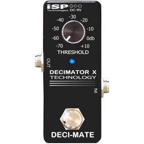 Pedal Isp Deci-mate Micro Decimator Noise Reductor C/ Nf-e