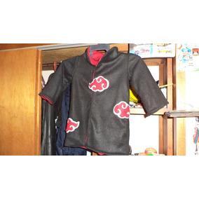 9da66778ebe0c Capa Cosplay Disfraz De Akatsuki Naruto Niño 2 A 4 Años