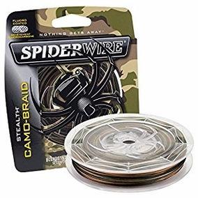 Nylon Spdr Stealth 15lb 300yd Camo Ss15c-300 Spiderwire