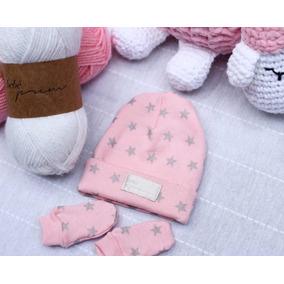 Touca Bebê Prematuro Branca Com Proteção Orelhas - Roupas de Bebê no ... 51c95d6788d