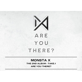 Monsta X Kpop Álbum Take 1 Are You There? Original C/ Poster