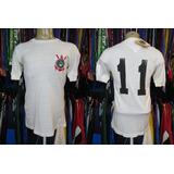 Corinthians 1975 Camisa Titular Tamanho G Número 11.