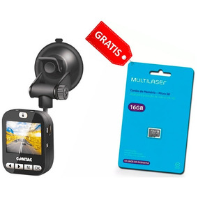 Câmera Veicular Black Box Comtac Full Hd + Grátis Micro Sd
