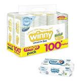 Pañales Winny Etapa 2 X 100 + 100 Toallitas Humedas