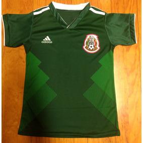 fdc5ace363dba Playeras Clon De La Seleccion Mexicana en Mercado Libre México