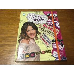 Diário De Viagem - Violetta Disney - Frete R$ 13,00