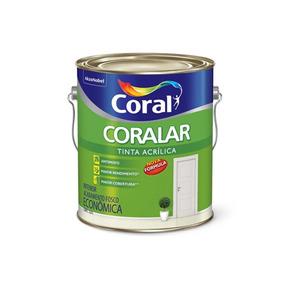 Tinta Acrílica Coralar Branco Gelo 3,6 Litros
