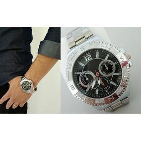 1f5782e9902 Relogio Estilo Alternativo Prata Importado Masculino - Relógios De ...