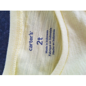 Blusa De Nina De 2 Años Carter