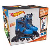 3395 - Patins Hot Wheels Ajustável 33 A 36