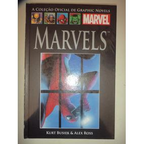 Graphic Novels 13 Marvels Lacrada Salvat 2013 Frete Gratis