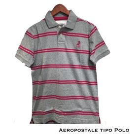 Playera Para Hombre Aeropostale Tipo Polo Xtreme C