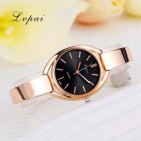 Relógio Feminino Lvpai Ouro Rose Promoção