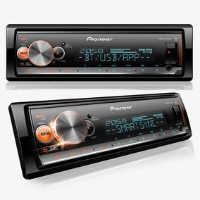 Som Mp3 Pioneer Mvh-x300br Bluetooth Karaokê Spotify Usb
