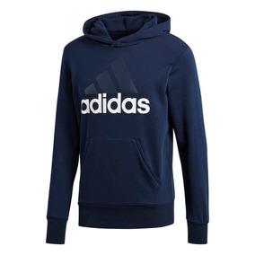 Blusa Moletom adidas Ess Lin Po Ft Masculino B45730 1bf8ba6d1670b