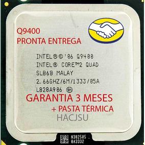 Processador Core 2 Quad Q9400 2,66ghz 6mb + Pasta Térmica