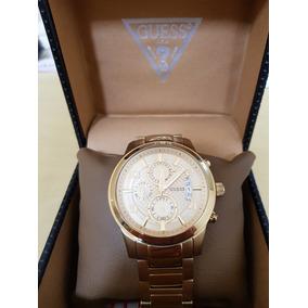 13d1908a026 Relógio Guess Steel Dourado U0075g5 - Relógios De Pulso no Mercado ...
