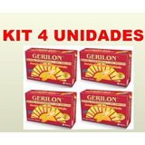 4 Gerilon Complexo Vitamínico Com Ginseng Igual Gerovital