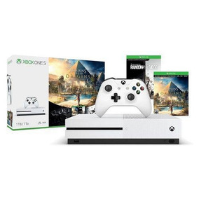 Console Xbox One S 1tb + Assassin S Creed + Rainbow Six