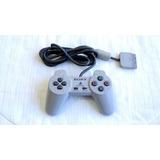 Control Clasico Original Para Ps1 Sony Scph-1080 Gris