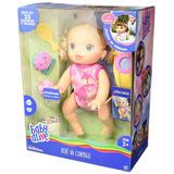 Baby Alive Bebe Va Conmigo Gatea 25 Sonidos Rubia Hasbro