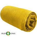 Tela Sombrite Amarela Quadrada Multiuso 4x4 Metros