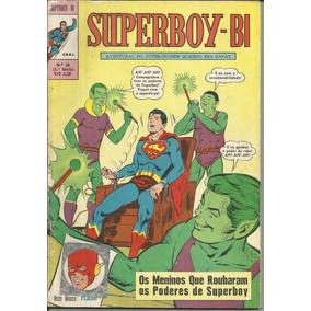 Hq Superboy-bi Nº 28 (1ª Série Ebal) 1971