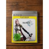 Final Fantasy Xiii Playstation 3 Ps3 Buen Estado !!!