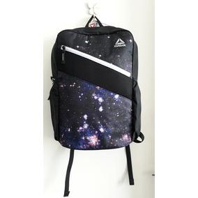Mochila Reebok Commuter Pack Galaxy Preta Original Eua