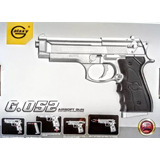 Pistola Airsoft Replica Beretta 92 Calibre 6mm Galaxy Gs052