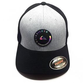 Boné Quiksilver Hologram Round Imp - Preto 09265328e33