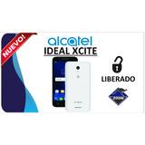 Alcatel Xcite Nuevo 4g Lte Teléfono Liberado Android 7.0