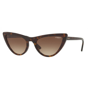 b9d851eafd9f9 Óculos De Sol Feminino Vogue Vo2663 Marrom - Calçados, Roupas e ...