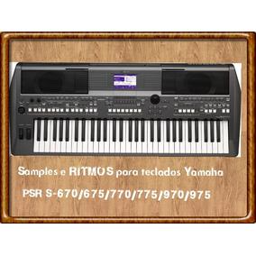 Samples E Ritmos Para Teclados 670/675/770/775/970/975