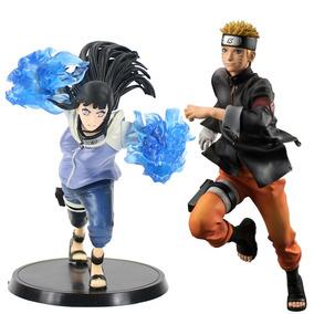 Hinata Hyuga E Naruto 2pçs Action Figure Brinquedo