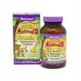 Bluebonnet Super Earth Rainforest Animalz Vitamina C Mastica